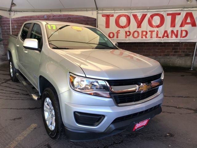 pre-owned 2017 chevrolet colorado lt 4d crew cab in portland #t9253
