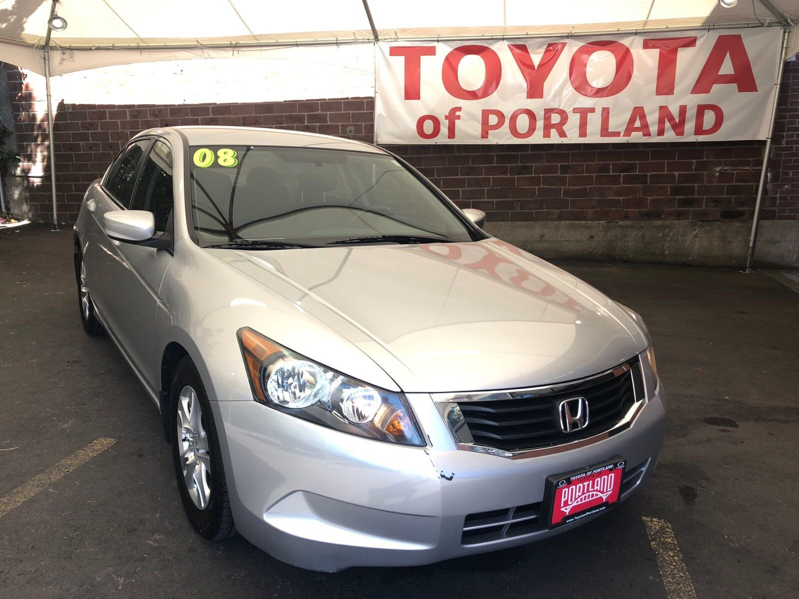 Pre Owned 2008 Honda Accord Sdn LX P 4dr Car in Portland T7888