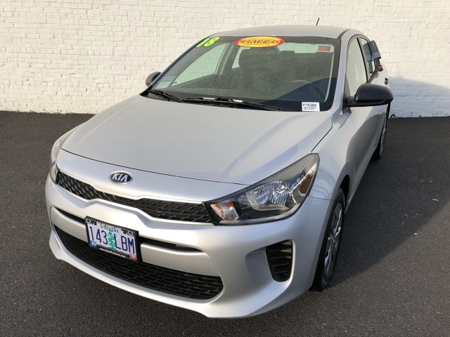 Kia Rio Lx >> Pre Owned 2018 Kia Rio Lx 4d Sedan In Portland P79369 Kia Of Portland