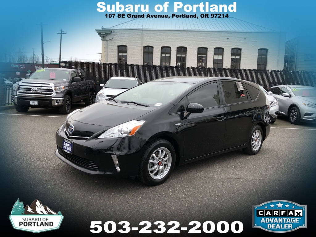 Pre Owned 2017 Toyota Prius V Three