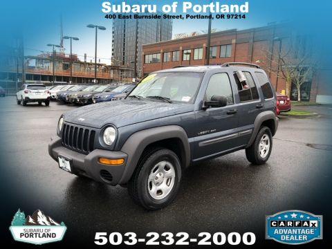 Pre-Owned 2002 Jeep Liberty Sport