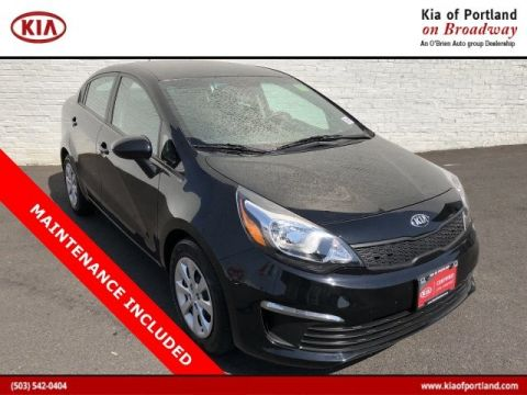 Certified Pre-Owned 2017 Kia Rio LX Front Wheel Drive Sedan