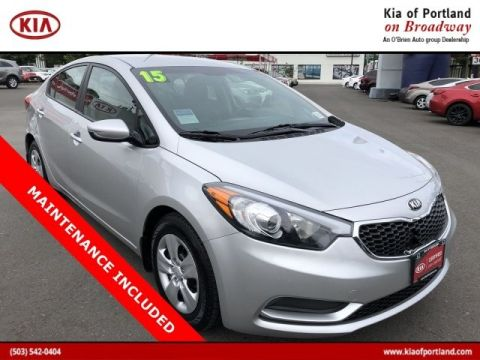 Certified Pre-Owned 2015 Kia Forte LX Front Wheel Drive Sedan