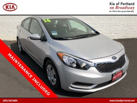 Certified Pre-Owned 2016 Kia Forte LX Front Wheel Drive Sedan