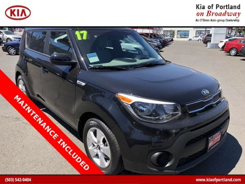 Certified Pre-Owned 2017 Kia Soul Base FWD Hatchback