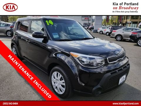Certified Pre-Owned 2014 Kia Soul Base FWD Hatchback