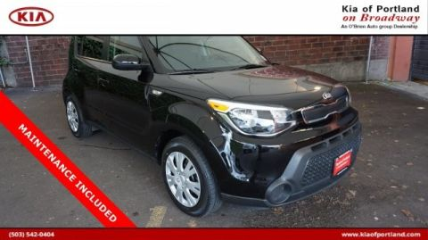 Certified Pre-Owned 2014 Kia Soul Base Front Wheel Drive Sedan