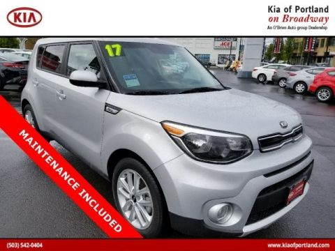 Certified Pre-Owned 2017 Kia Soul + Front Wheel Drive Hatchback