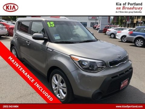 Certified Pre-Owned 2015 Kia Soul + Front Wheel Drive Hatchback