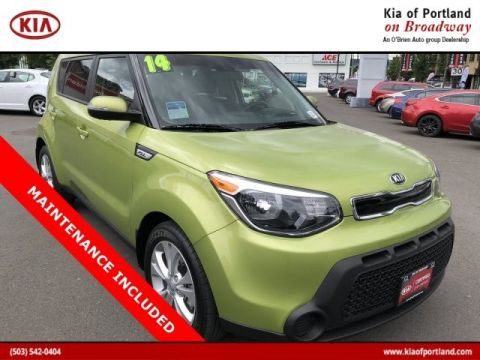 Certified Pre-Owned 2014 Kia Soul + Front Wheel Drive Sedan